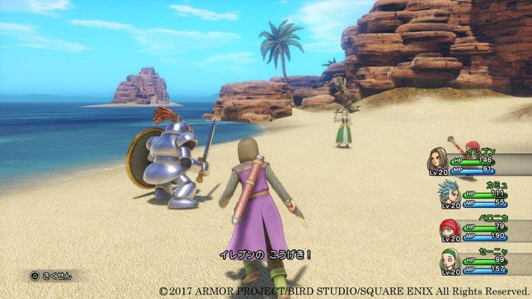Square Enix libera novas imagens de Dragon Quest XI; confira 6