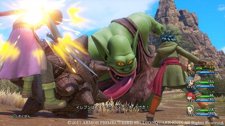 Square Enix libera novas imagens de Dragon Quest XI; confira 10