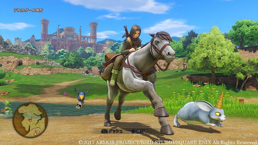 Square Enix libera novas imagens de Dragon Quest XI; confira