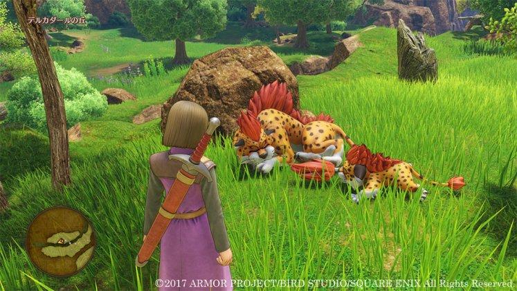 Square Enix libera novas imagens de Dragon Quest XI; confira 12