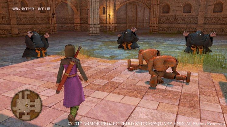 Square Enix libera novas imagens de Dragon Quest XI; confira 14