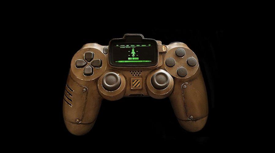 DualShock 4 inspirado em Fallout 4 é impressionante; confira