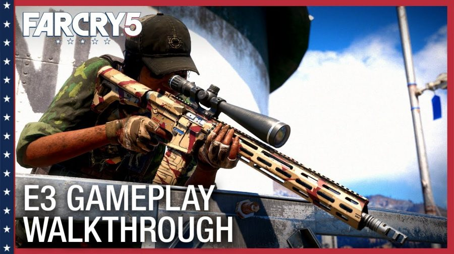 Novos vídeos mostram toda a insanidade de Far Cry 5 na E3 2017