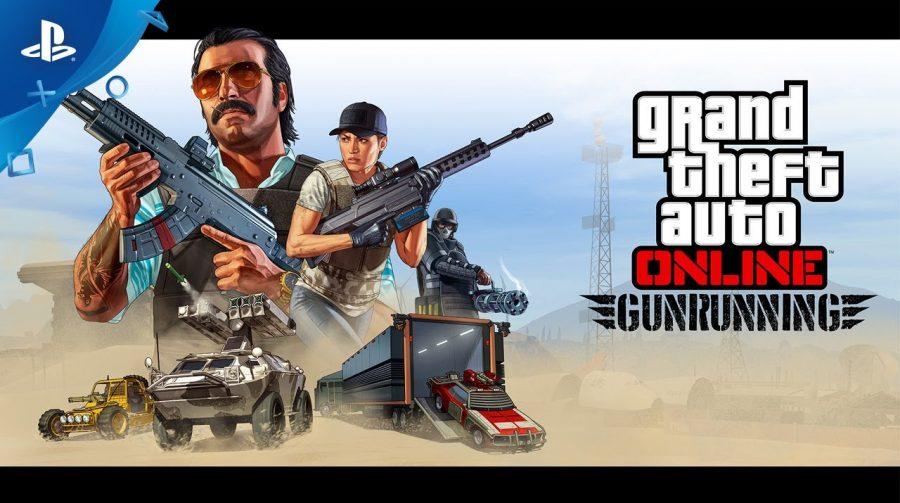 Update Gunrunning de GTA V chega 13 de Junho; confira o trailer