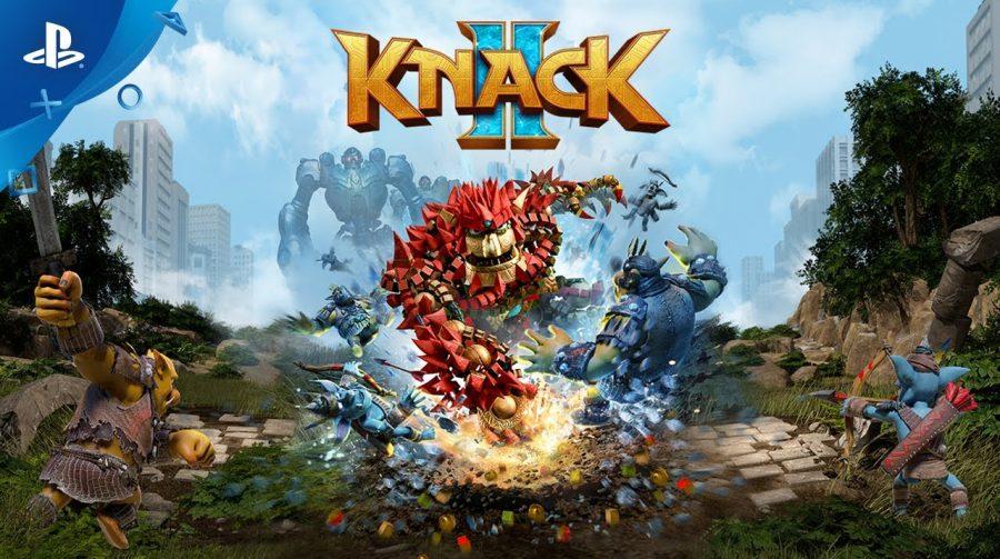Novas imagens de Knack 2 apresentam o elenco do jogo e tema exclusivo