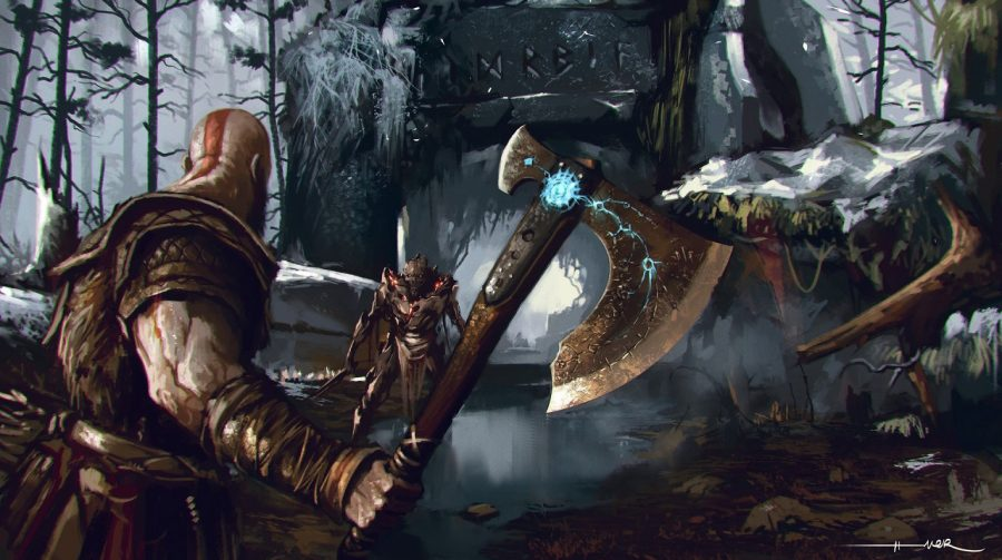 Diretor de God of War explica a importância da nova arma de Kratos