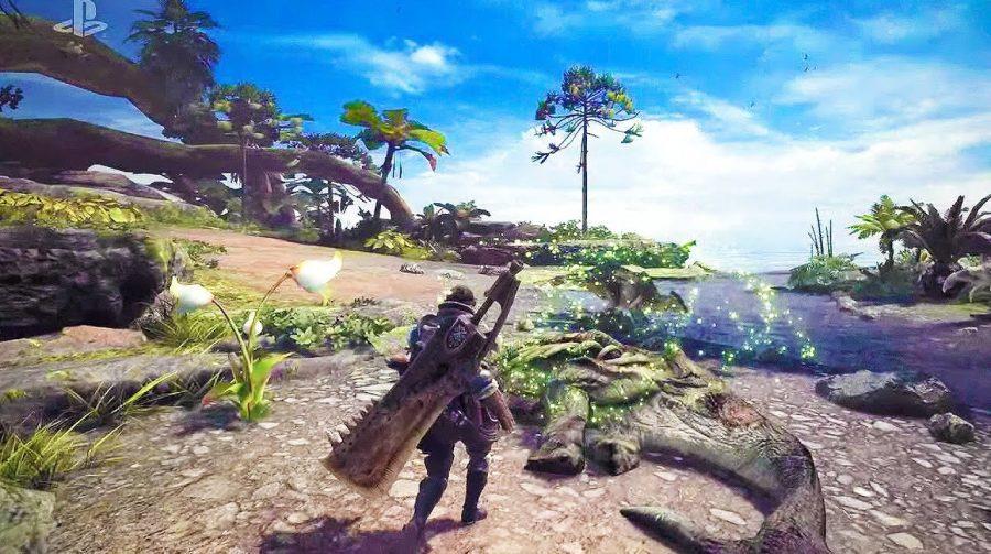 Já tem data! Monster Hunter World chegará em 26 de janeiro ao PS4