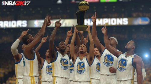 NBA 2K17 faz simulação da final da NBA; Warriors vencem