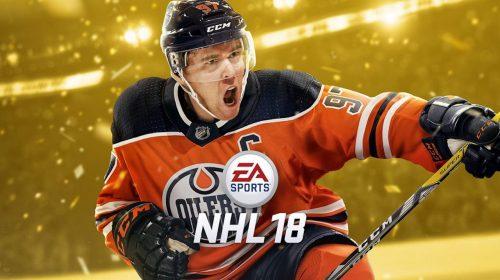 O inverno chegou! NHL 18 ganha trailer, detalhes do Beta e capa