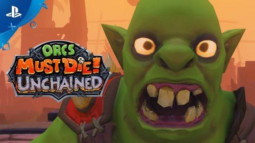 Orcs Must Die Unchained chegará ao PS4 em julho gratuitamente