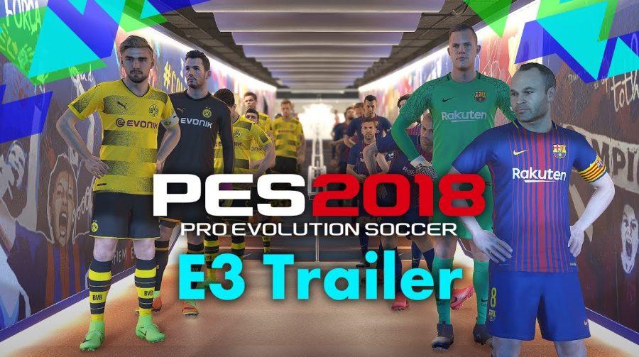 Revelação de PES 2018 na E3 2017 foca no modo online; veja