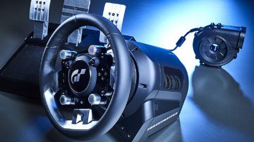 Thrustmaster anuncia T-GT, volante oficial para Gran Turismo Sport