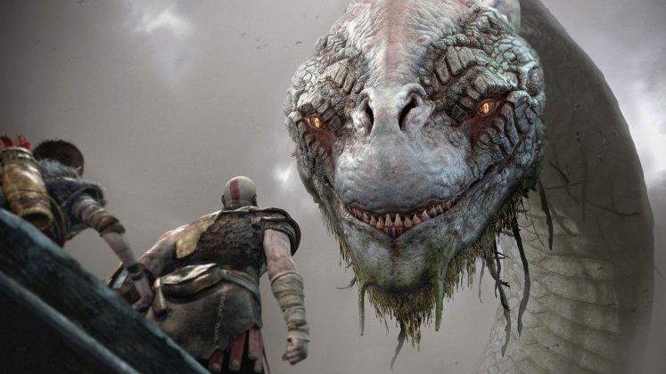 E3 2017: God of War estava rodando no PS4 padrão; veja imagens 1