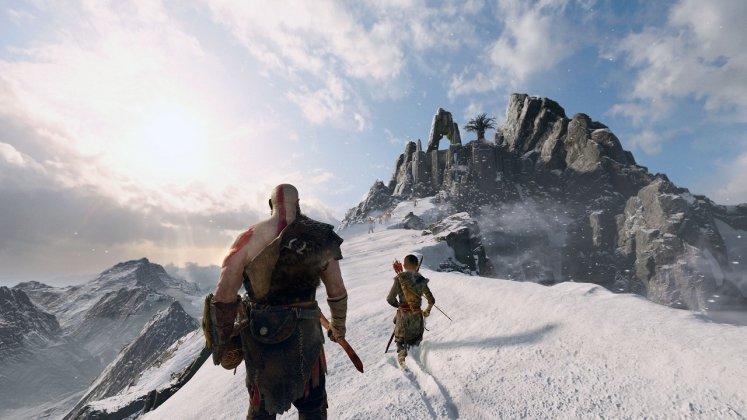 E3 2017: God of War estava rodando no PS4 padrão; veja imagens 3