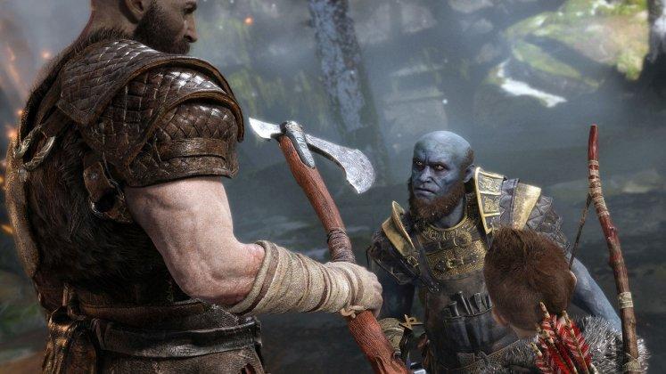 E3 2017: God of War estava rodando no PS4 padrão; veja imagens 6