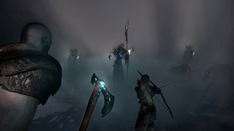 E3 2017: God of War estava rodando no PS4 padrão; veja imagens 7