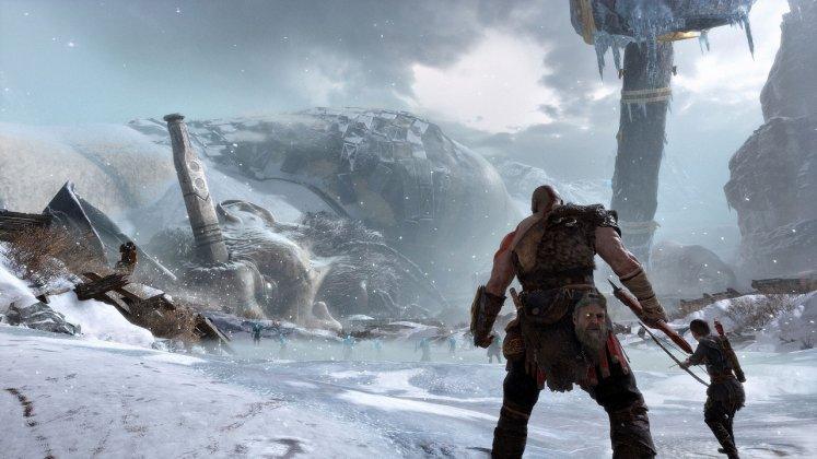 E3 2017: God of War estava rodando no PS4 padrão; veja imagens 8