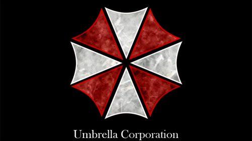 Clínica copia logo da Umbrella Corporation de Resident Evil