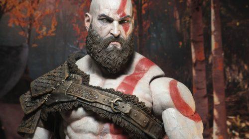 De babar! Empresa anuncia incrível action figure de Kratos