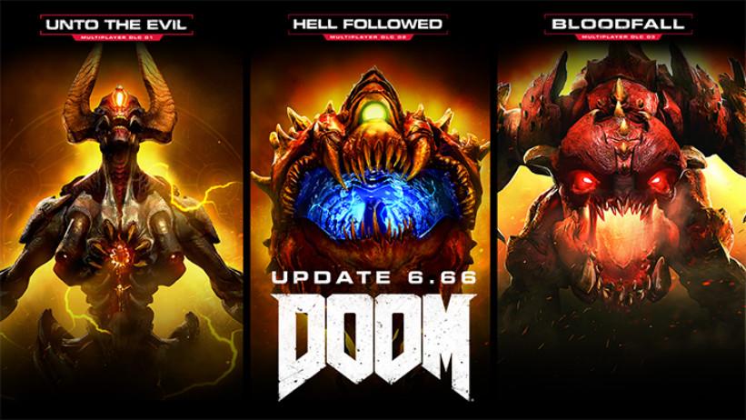 Atualização 6.66 de DOOM oferece DLCs gratuitos e melhorias; veja