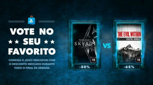 Vote! Skyrim vs.The Evil Within: qual deve ser vendido com descontos?