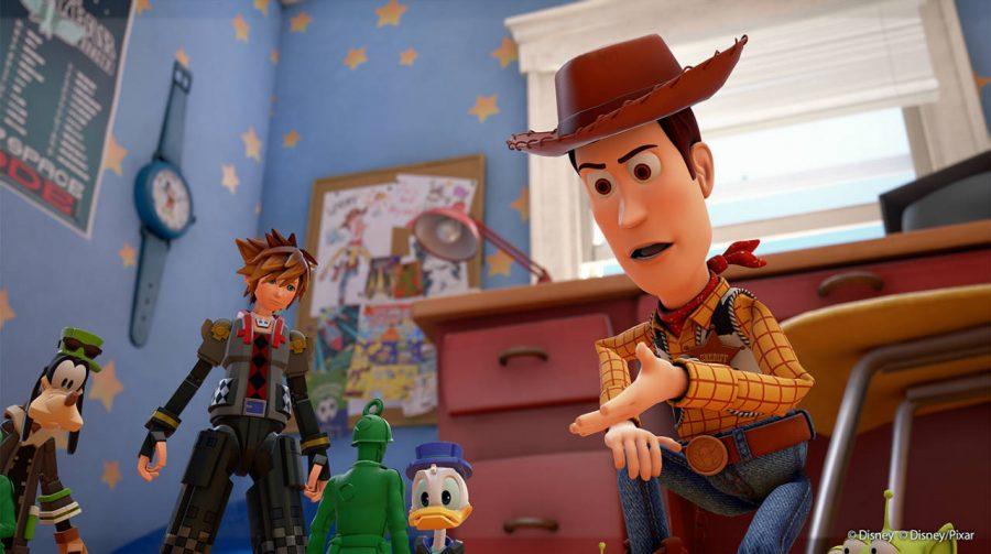 Novas e belas imagens de Toy Story em Kingdom Hearts III