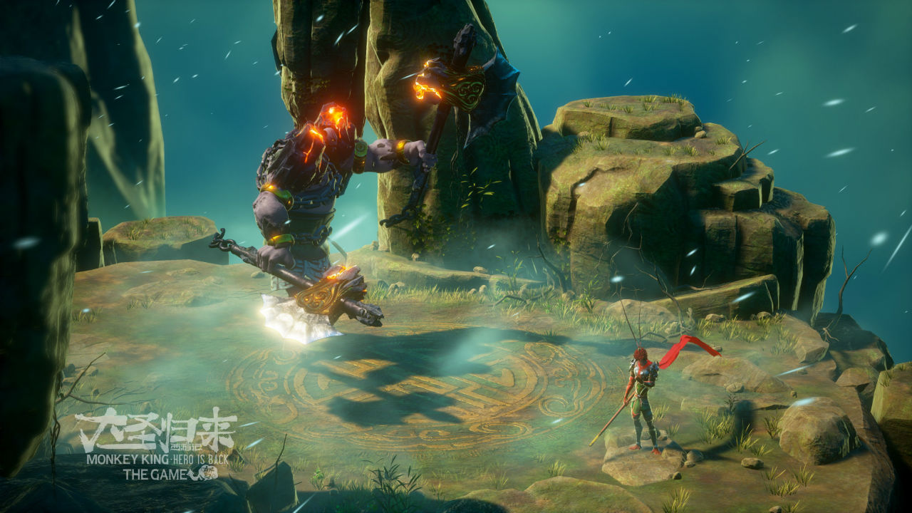 Novas imagens de Monkey King Hero Is Back, novo exclusivo de PS4 1