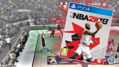 NBA 2K18 levará narrativa para o modo franquia
