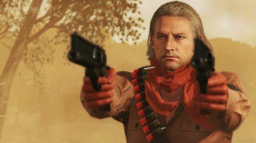 Revolver Ocelot ficará 'jogável' em nova atualização de Metal Gear Solid V