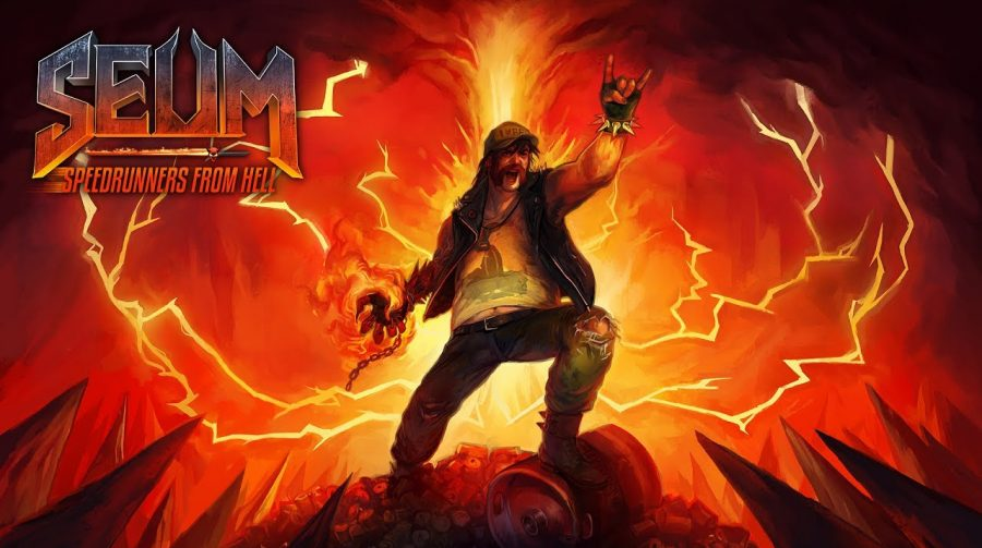 Muito Heavy Metal! SEUM: Speedrunners From Hell anunciado para PS4