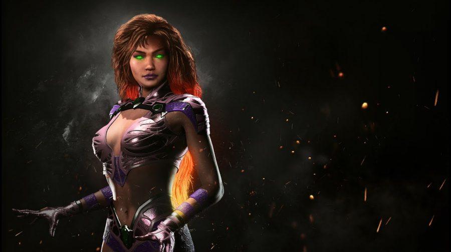 Nova personagem! Estelar brilha em apresentação de Injustice 2