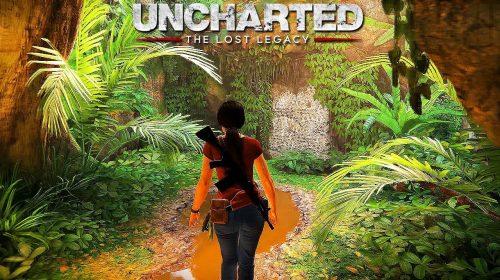 Uncharted The Lost Legacy será maior que os três primeiros da série