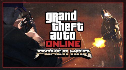 GTA V: atualização gratuita adiciona modo Power Mad e novo carro