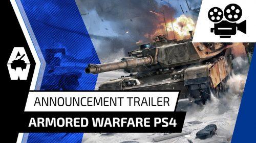 Jogo de tanques, Armored Warfare é anunciado para PS4; conheça