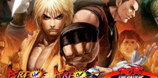 Art of Fighting Anthology - Capa