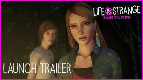 Chegando! Life is Strange: Before the Storm recebe trailer de lançamento