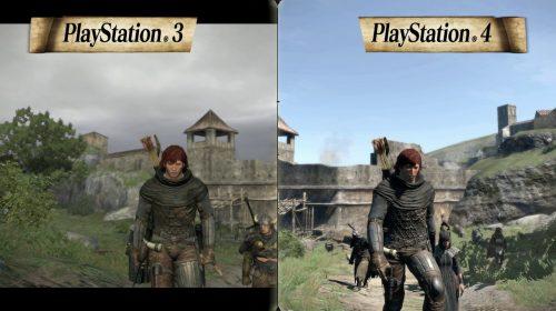 Compare: Gráficos de Dragon's Dogma: Dark Arisen de PS4 vs. PS3