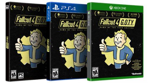Fallout 4 terá edição GOTY com melhorias gráficas, confirma Bethesda
