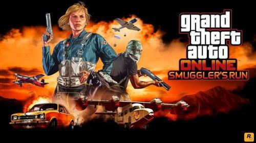 Rockstar Games anuncia novo DLC para GTA V: Smuggler's Run