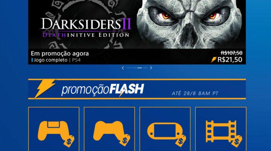 Sony anuncia promoção Flash de Agosto; confira jogos e preços