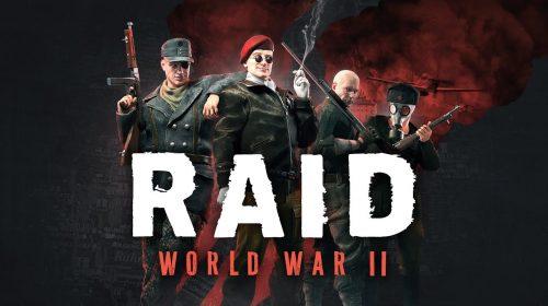 RAID World War 2 chegará ao PS4 em outubro deste ano; conheça