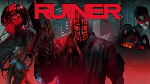Shooter Cyberpunk, RUINER chegará ao PS4 em Setembro; conheça