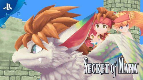 O Lendário! Square Enix anuncia remake de Secret of Mana para PS4