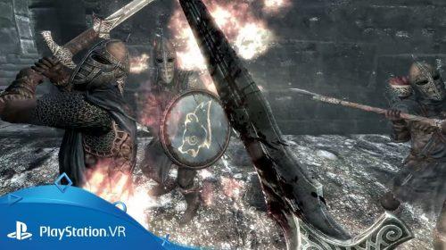 Bethesda anuncia datas de DOOM VFR, Skyrim VR e Fallout 4 VR