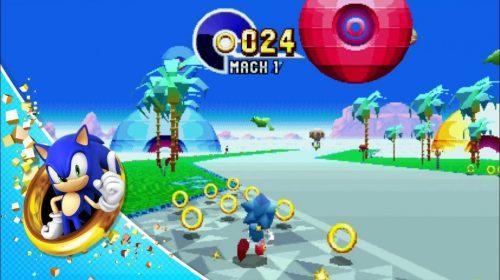SEGA revela estágios especiais de Sonic Mania em grande estilo