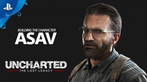 Novo trailer de Uncharted: The Lost Legacy explora o vilão Asav