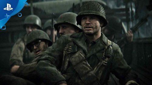 Call of Duty: WWII figura em primeiro nas vendas do Reino Unido