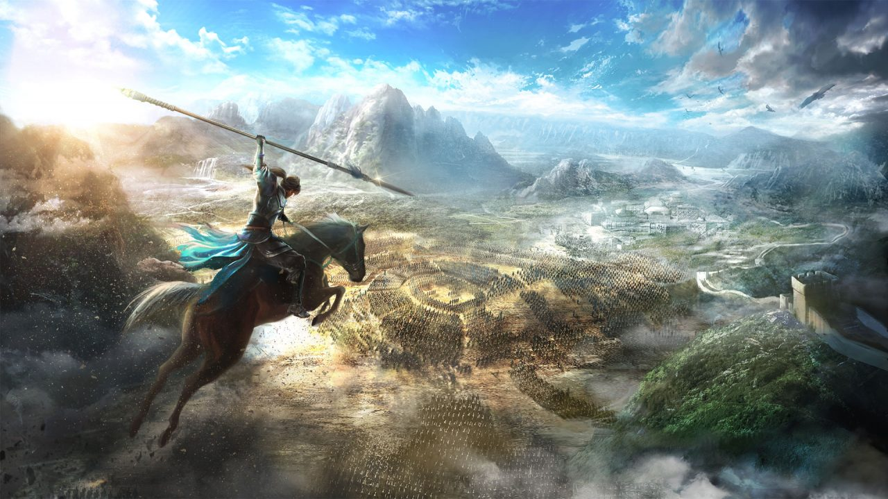 Cena de Dynasty Warriors 9.