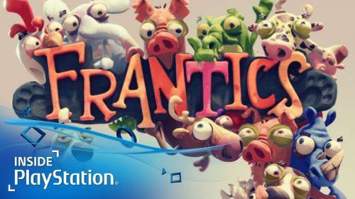 Frantics chegará ao PS4 em 2018 com muitas possibilidades