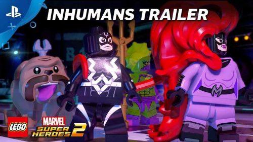 Novo trailer de LEGO Marvel Super Heroes 2 apresenta os Inumanos